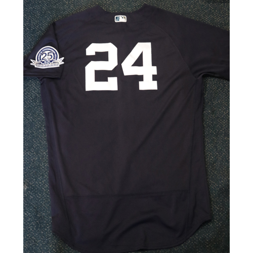 Photo of Team-Issued Spring Training Jersey - Gary Sanchez - #24 - Jersey Size - 48