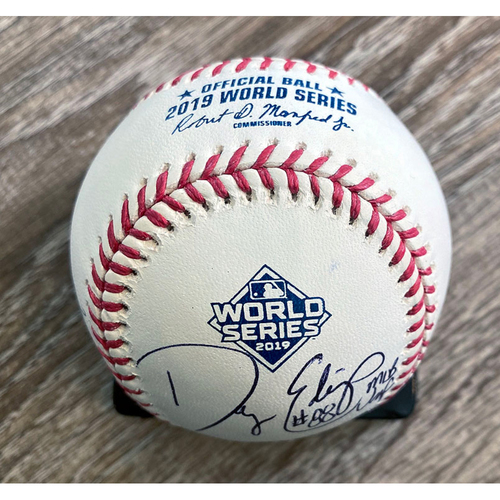 Photo of UMPS CARE AUCTION: Crew Signed Baseball From 2019 World Series