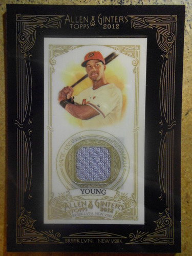 Photo of 2012 Topps Allen and Ginter Relics #CY Chris Young