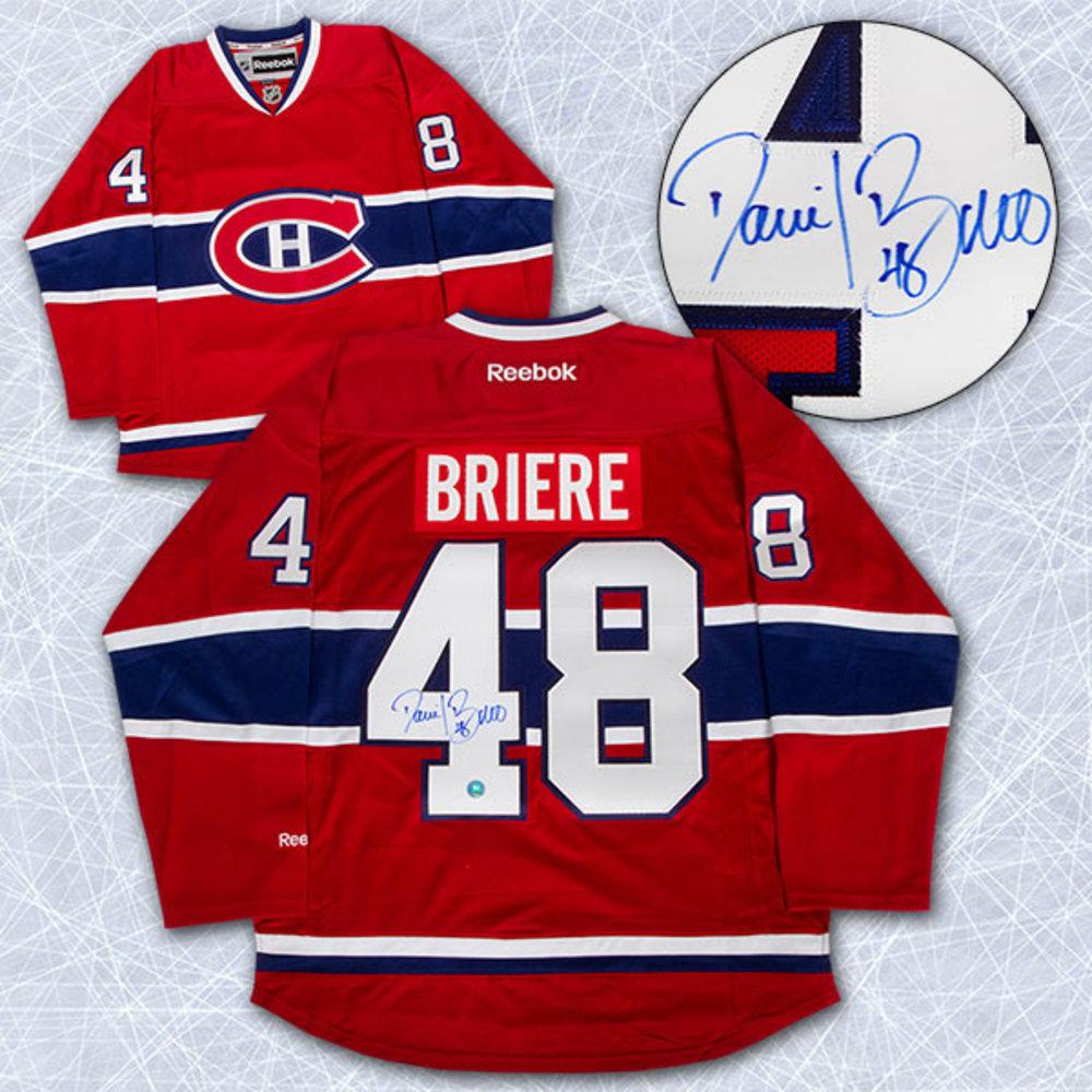 DANIEL BRIERE Autographed Montreal Canadiens Reebok Premier Jersey