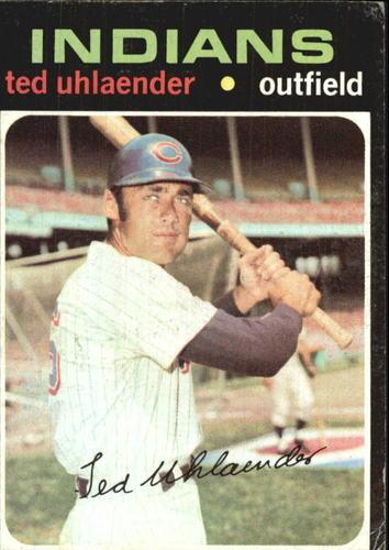 Photo of 1971 Topps #347 Ted Uhlaender