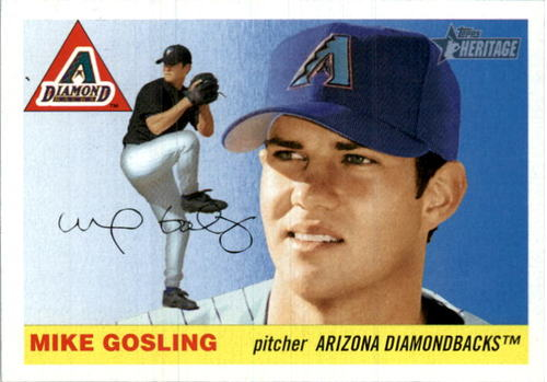 Photo of 2004 Topps Heritage #330 Mike Gosling RC