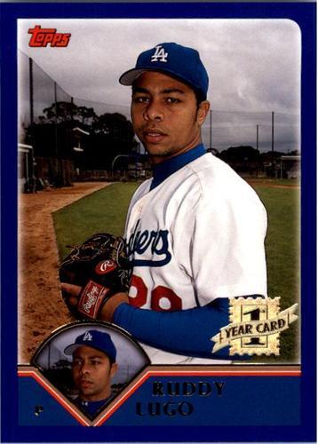 Photo of 2003 Topps #312 Ruddy Lugo FY RC
