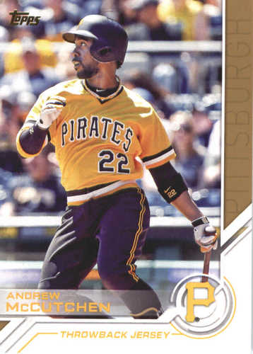 Photo of 2017 Topps Update Salute #USS47 Andrew McCutchen