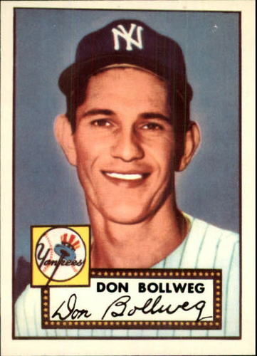 Photo of 1983 Topps 1952 Reprint #128 Don Bollweg