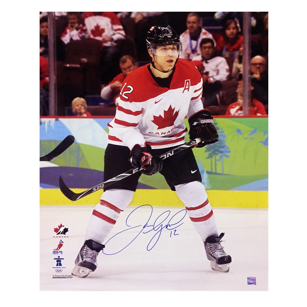 JAROME IGINLA Signed Team Canada 16 X 20 Photo - 79086