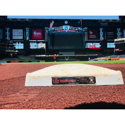 Game-Used Base vs. Houston Astros 5/6/18
