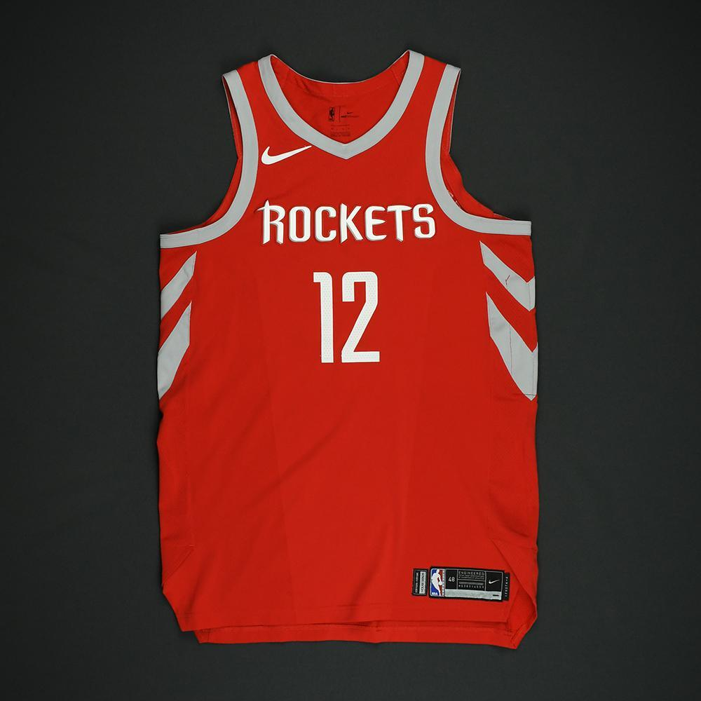 Luc Mbah a Moute - Houston Rockets - NBA Christmas Day '17 Game-Issued Jersey