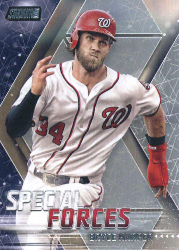 2018 Stadium Club Special Forces #SFBH Bryce Harper