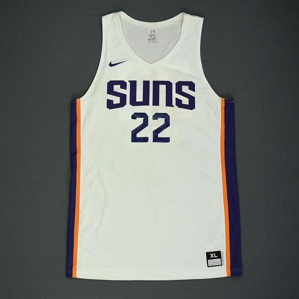 92420bd06550 Deandre Ayton - Phoenix Suns - 2018 NBA Summer League - Game-Worn Jersey