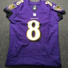 NFL - Ravens Lamar Jackson Signed Authentic Jersey Size 42