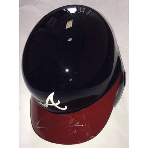 Photo of Josh Donaldson Autographed Braves Batting Helmet