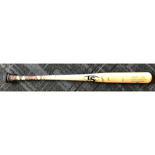 2019 Game-Used Broken Bat used by #26 Yangervis Solarte on 4/26/19 vs. New York Yankees