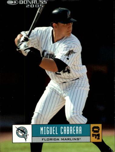 Photo of 2005 Donruss #197 Miguel Cabrera