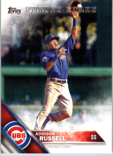 Photo of 2016 Topps #562 Addison Russell FS