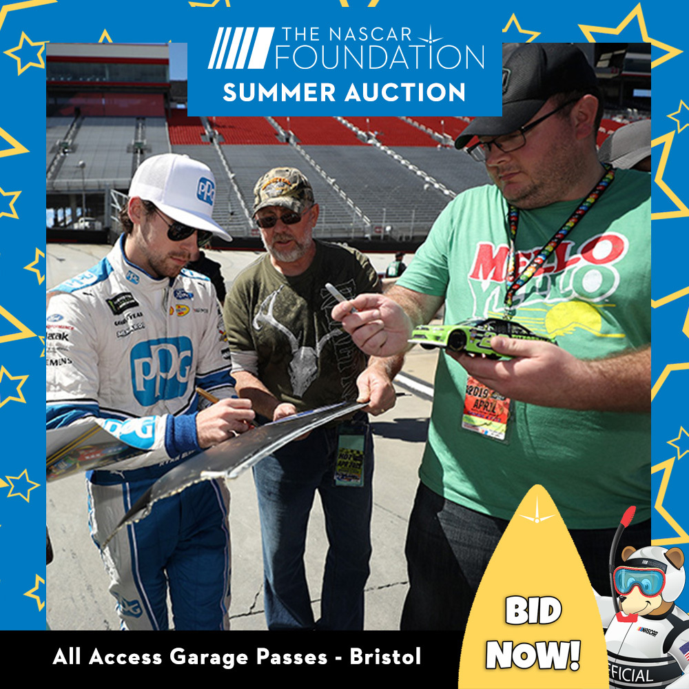 All Access Garage Passes at Bristol benefitting The Paralyzed Veterans of America!