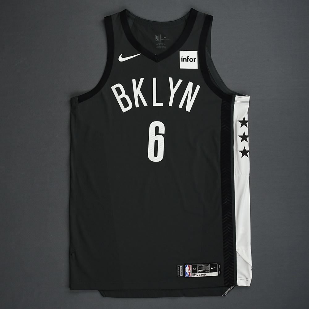 Jared Dudley - Brooklyn Nets - 2018-19 Season - Game-Worn Gray Statement Edition Jersey