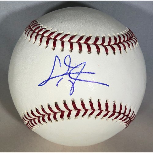 Photo of Chris Taylor Authentic Autographed Baseball