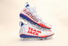 My Cause My Cleats -  Patriots Rex Burkhead signed custom cleats - supporting  Team Jack Foundation