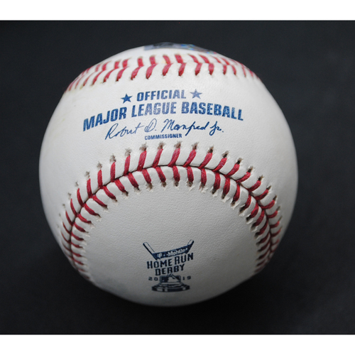 Photo of 2019 Home Run Derby (07/08/19) - Game-Used Baseball - Josh Bell (Pittsburgh Pirates) - Round 1, Out