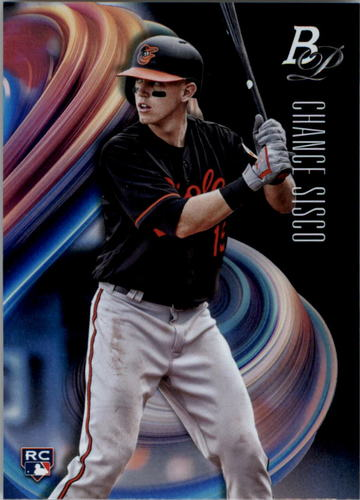 Photo of 2018 Bowman Platinum #59 Chance Sisco RC