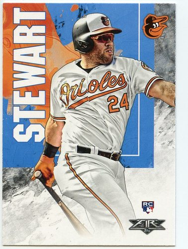 Photo of 2019 Topps Fire #71 DJ Stewart RC
