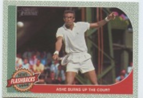 Photo of 2017 Topps Heritage News Flashbacks #NF15 Arthur Ashe