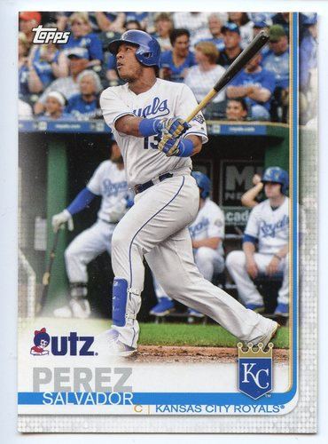 Photo of 2019 Topps Utz #60 Salvador Perez