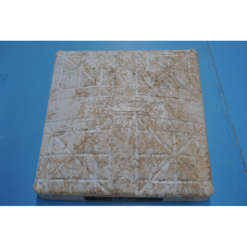Photo of Game-Used 1st Base - 2020 ALDS - New York Yankees vs. Tampa Bay Rays - Game 1: Innings 1-5