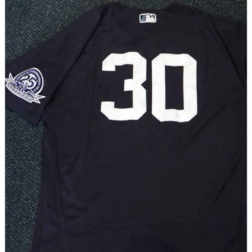 Photo of Team-Issued Spring Training Jersey - Josh Thole - #30 - Jersey Size - 46
