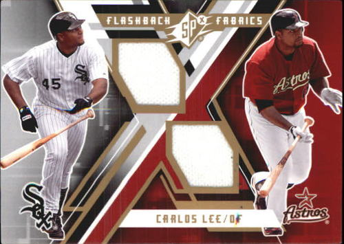 Photo of 2009 SPx Flashback Fabrics #FFCL Carlos Lee