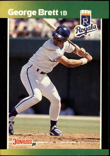 Photo of 1989 Donruss Baseball's Best #7 George Brett