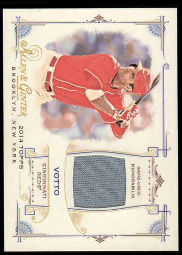 Photo of 2014 Topps Allen and Ginter Relics #FRBJV Joey Votto B