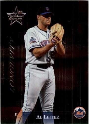 Photo of 2002 Leaf Rookies and Stars Longevity #204 Al Leiter Mets