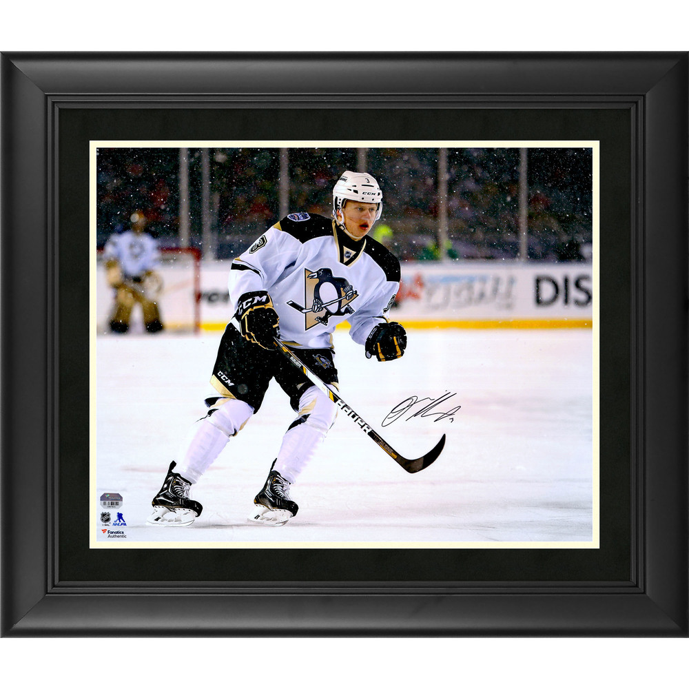 Olli Maatta Pittsburgh Penguins Framed Autographed 16