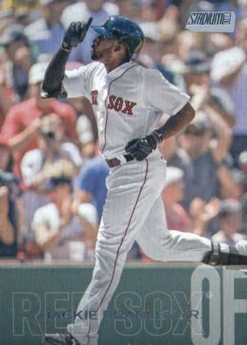 Photo of 2018 Stadium Club #293 Jackie Bradley Jr.