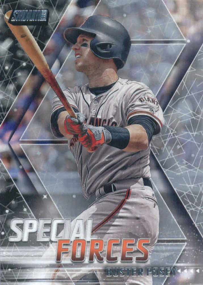 2018 Stadium Club Special Forces #SFBP Buster Posey
