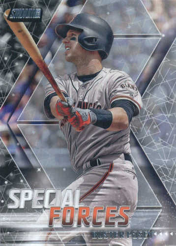 Photo of 2018 Stadium Club Special Forces #SFBP Buster Posey