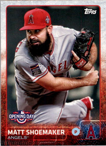 Photo of 2015 Topps Opening Day #76 Matt Shoemaker