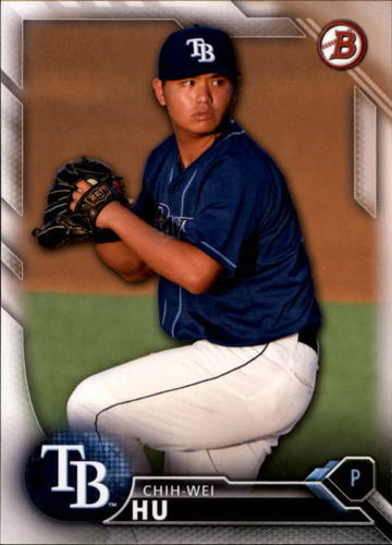Photo of 2016 Bowman Draft #BD147 Chih-Wei Hu