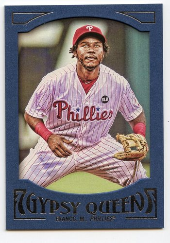 Photo of 2016 Topps Gypsy Queen Framed Blue #80 Maikel Franco
