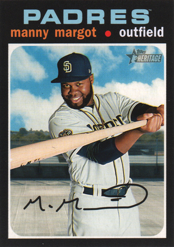 Photo of 2020 Topps Heritage #184 Manny Margot