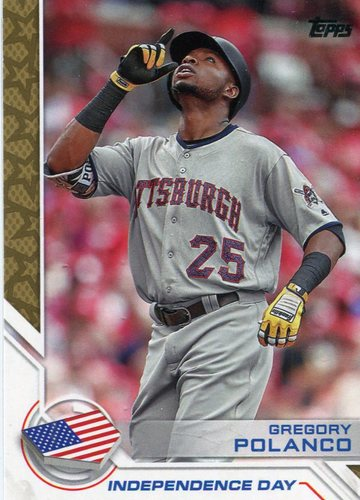 Photo of 2017 Topps Independence Day #ID2 Gregory Polanco