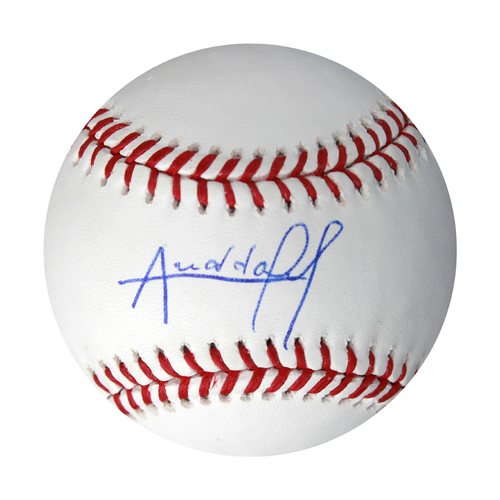 Photo of Autographed Baseball: Arnaldo Hernandez