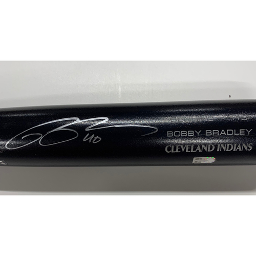 Photo of Bobby Bradley Autographed Louisville Slugger Bat