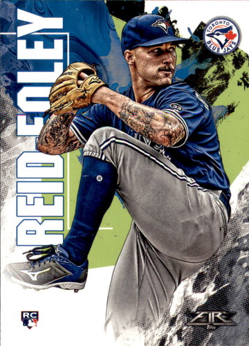 Photo of 2019 Topps Fire #73 Sean Reid-Foley RC