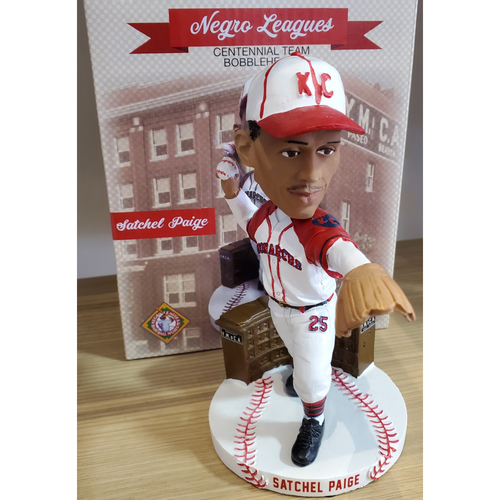 Photo of NEGRO LEAGUES CENTENNIAL TEAM BOBBLEHEAD SERIES: Satchel Paige