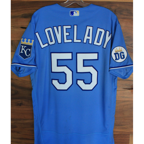 Photo of Alex's Lemonade Stand Foundation: Game-Used Richard Lovelady Jersey (Size 44 - 9/26/20 DET @ KC)