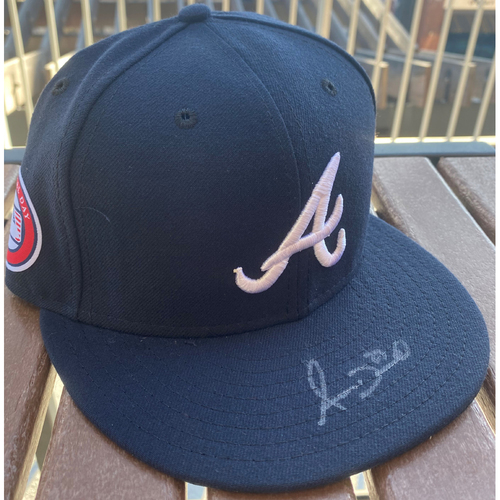 Photo of Adam Duvall Autographed Memorial Day Hat