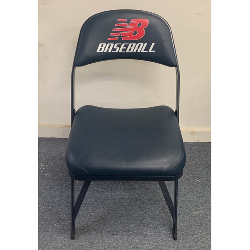 Photo of Mike Trout May 25, 2021 Game Used Locker Chair